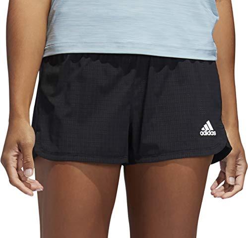 adidas Damen 2IN1 NOV Shorts Black/White S