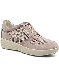 Superga2750 SANGALLOSATINW - Zapatillas Mujer, Color Blanco, Talla 39.5