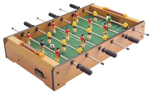 Solex Kickertisch Mini, Holz/bunt, 48.5 x 28.5 x 8.4 cm, 90202 -