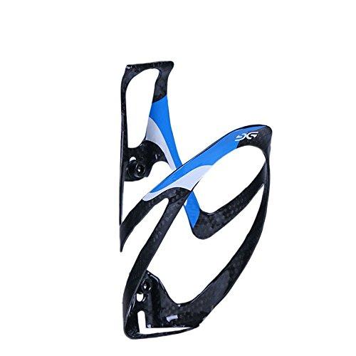 ELITA ONE fibra di carbonio MTB da strada Bicicletta da bicicletta Ciclismo Portabottiglie Gabbia in carbonio (blu)