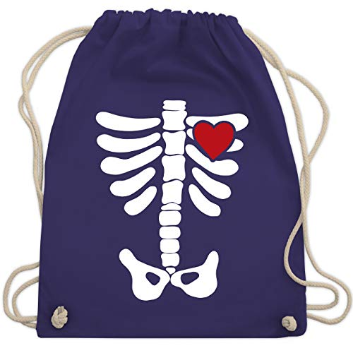 Gruselig Jackolantern Erwachsene Kostüm - Halloween - Skelett Herz Halloween Kostüm