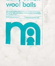 Mothercare Baby Cotton Wool Balls - 200 Pack