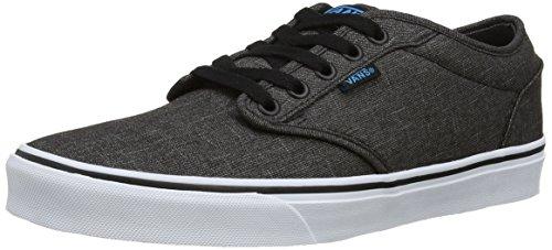Vans ATWOOD, Herren Sneakers, Grau ((Textile)Bk/Haw FN8), 42.5 EU