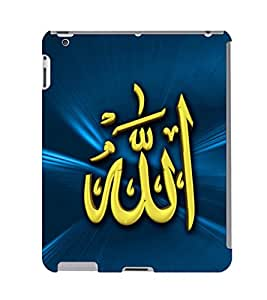 Fuson 3D Printed Lord Allah Designer Back Case Cover for Apple iPad Air 2 - D546