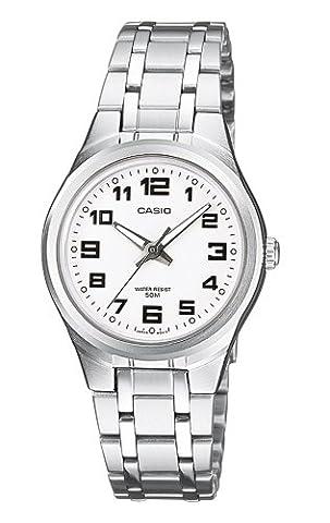 Casio Collection – Damen-Armbanduhr mit Analog-Display und Edelstahlarmband – LTP-1310PD-7BVEF