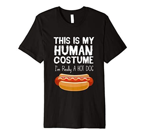 Hot Dog Halloween Kostüm lustiges Geschenk Hot Dog Liebhaber