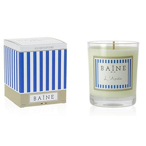 BAÏNE France - Bougie parfumée « L'Amélie\\