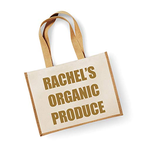 Große Jute Bag personalisierbar Bio-Produkte Natural Tasche Gold Text Mütter Tag Neue Mama Geburtstag Weihnachtsgeschenk - Große Wickeltasche Personalisierte