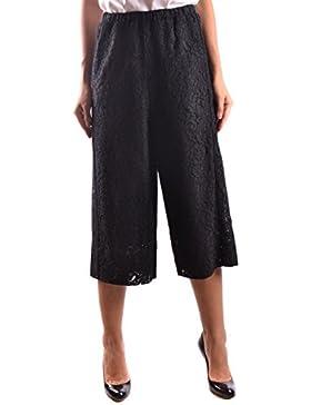 Pinko Mujer CIOPZ99 Negro Algodon Pantalón