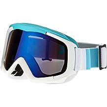 Black Crevice Máscara de Esquí  Blanco / Azul
