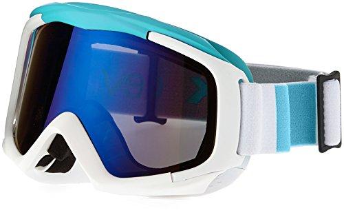 Black Crevice Máscara de Esquí Blanco/Azul