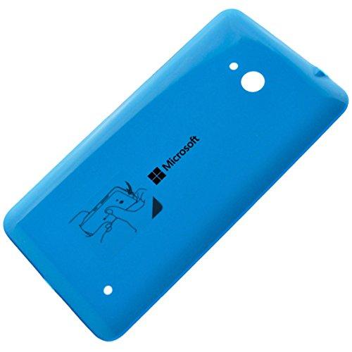 Microsoft 02509R9Original Akkudeckel für Microsoft Lumia 640 cyan