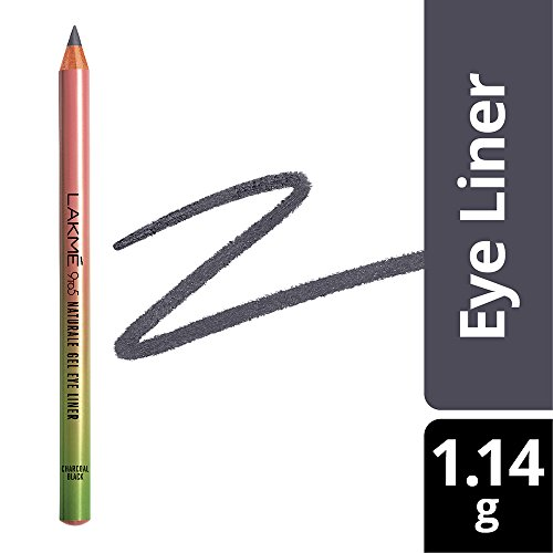 Lakme 9 to 5 Naturale Gel Eye Liner, Charcoal Black, 1.14g