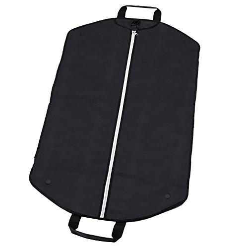 Alpamayo® Kleidersack, faltbare Kleidertasche mit Tragegriff und stabilem Haken für den knitterfreien Transport von Anzügen, Hemden und Kleidern auf Reise (Anzug-reisetasche)