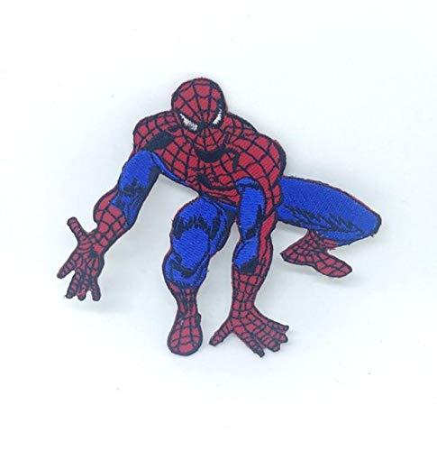 Parche bordado de Spiderman listo para saltar