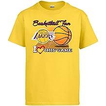 Camiseta NBA Los Angeles Lakers Baloncesto Basketball Fan I Love This Game