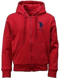 US Polo Assn Zip Hoodie - Sudadera con capucha - para niño