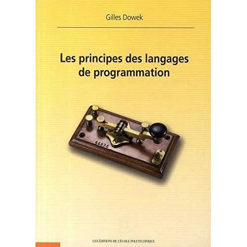 Les principes des langages de programmation