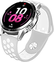 Compatible with HUAWEI Samsung Watch Soft Silicone 20mm Band, Sports Replacement Strap Wristband for HUAWEI GT