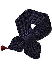 TININNA Otoño Invierno Moda Lindo Niños Niñas tejidos de lana Bufandas Chales Pañuelos-Marina de guerra