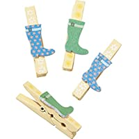Welly Wooden Pegs x 12 Talking Tables