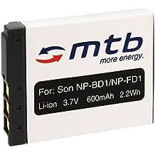 Batteria NP-BD1 per Sony Cyber-shot DSC-G3, T2, T70, T75, T77, T90, T200