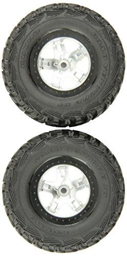 traxxas-5880-kumho-neumaticos-pre-glued-en-sct-ruedas-negro-beadlock-estilo-par