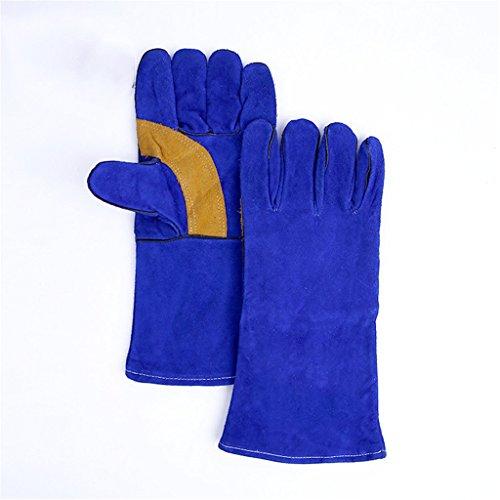 CN Schutzhandschuhe aus Dickem Leder Isolierung Anti-Hot Flammhemmende Handschuhe Schutzhandschuhe (Xl-antistatik-handschuhe)