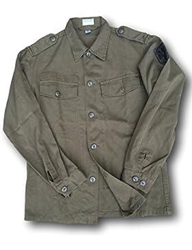 Cissbury - Camisa para hombre, diseño de ejército de Austria vintage, verde