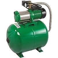 Pompe SURPRESSEUR 60L - 1 450W Pompe A Eau DE Surface : 5 turbines - Auto-amorçante (Eau de Pluie, rivière.)