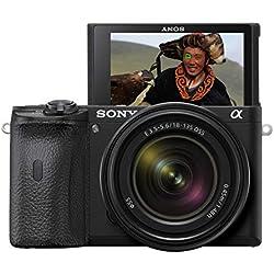 Sony Alpha ILCE-6600M Appareil photo hybride APS-C, Kit boitier + Optique E 18-135mm, Noir
