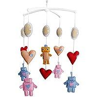 Babybetten Glocke, Baby Boy & Girl Bedding Spielzeug, nettes Baby-Geschenk preisvergleich bei kleinkindspielzeugpreise.eu