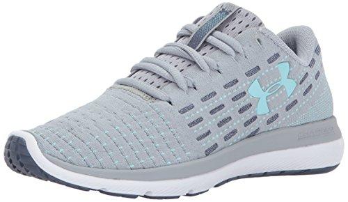 Under Armour Women's Slingflex Running Shoe, Black, M US