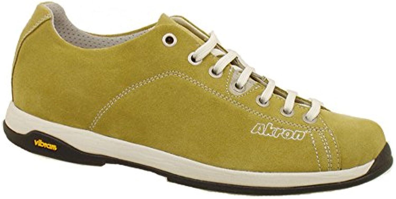 AKRON Suede Fashion Fashion Fashion Shoes, Vibram Sole + EVA, Focus Yellow Moutarde 40 f6c312