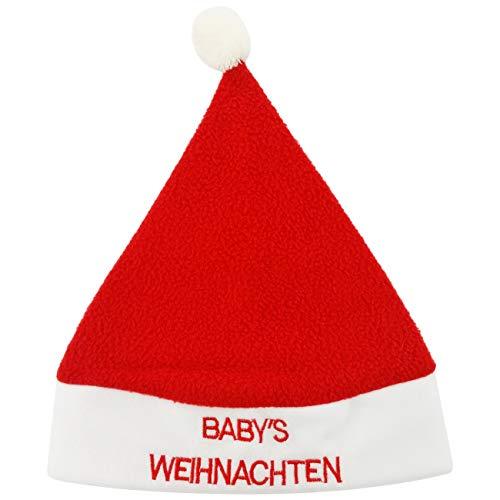 Ciffre Weihnachtsmützen Mütze Nikolausmütze Weihnachtsmütze Santa Plüsch Baby ()