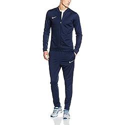 Nike Herren Academy 16 Knit Tracksuit Trainingsanzug, 808757 Blau (Obsidian/Deep Royal Blue/White), 2XL