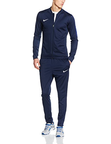 Nike Herren Academy 16 Knit Tracksuit Trainingsanzug, 808757 Blau (Obsidian/Deep Royal Blue/White), M