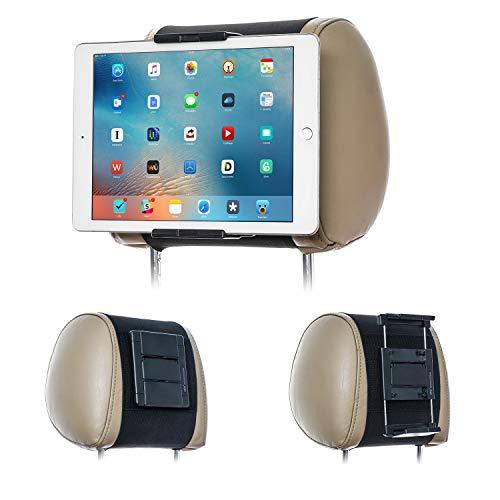 poggiatesta tablet TFY - Supporto da auto per poggiatesta auto per telefoni e tablet