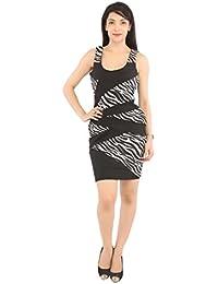 LondonHouze Printed Bodycon Dress