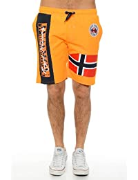 Geographical Norway - Maillot de Bain Geographical Norway Qyeromania Men Orange