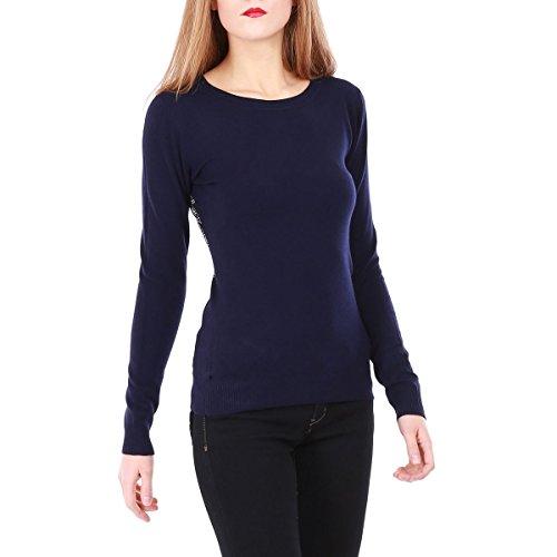 La Modeuse - Pulllégeràmanches longues Bleu