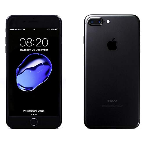 "Apple iPhone 7, 4,7"" Display, SIM-Free, 128 GB, 2016, Schwarz (Generalüberholt)"