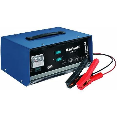 Einhell 10.031 1BT-BC 22 E - Cargador (12 V) para baterías de plomo de 5 - 300 Ah, color azul