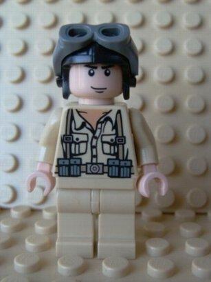 Lego Indiana Jones Mini-figure German Soldier Picture
