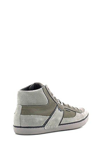 Geox U Box B, Sneakers Hautes Homme Jaune