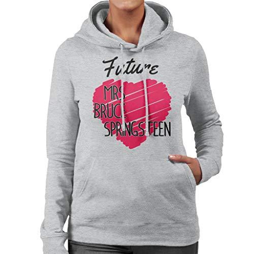Coto7 Future Mrs Bruce Springsteen Women's Hooded Sweatshirt
