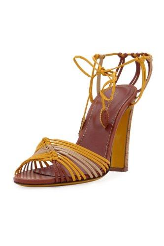sergio-rossi-sandales-a-talon-straps-femme-couleur-jaune-fonce-taille-375