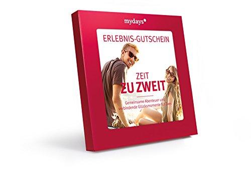 Erlebnis-Gutschein / mydays / ZEIT ZU ZWEIT / 2 Personen /  80 Erlebnisse an über 420 Standorte /...