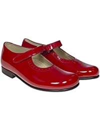 fcc41569341 Amazon.co.uk: Red - Mary Janes / Girls' Shoes: Shoes & Bags