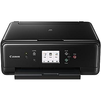 Canon Pixma TS6050 Inalámbrica - Impresora multifunción (inyección de tinta,WiFi, NFC, A4, 15 ipm y 10 ipm, color), negro